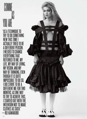 Gigi ~ V Magazine (2014)