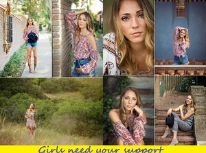 Girls need your support