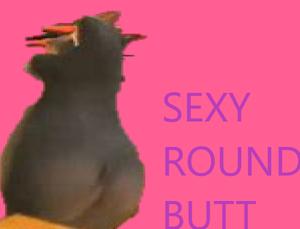 Gloria`s SEXY round butt