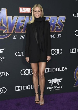Gwyneth Paltrow (Pepper Potts) @ Avengers Endgame L.A. premiere