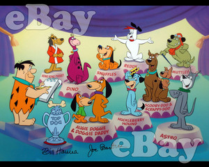 Hanna-Barbera Dog tunjuk