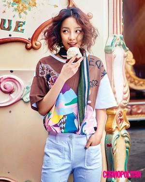 Hara for Cosmopolitan Korea July 2016