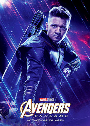 Hawkeye ~Avengers: Endgame (2019) character posters