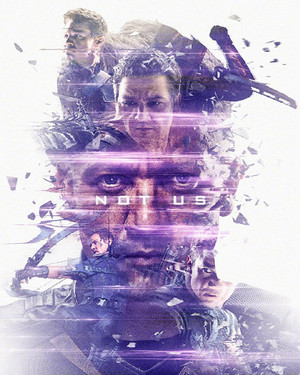 Hawkeye ~Avengers: Endgame Original Six Characters Promotional Art by masaolab
