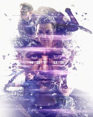 Hawkeye ~Avengers: Endgame Original Six Characters Promotional Art sa pamamagitan ng masaolab