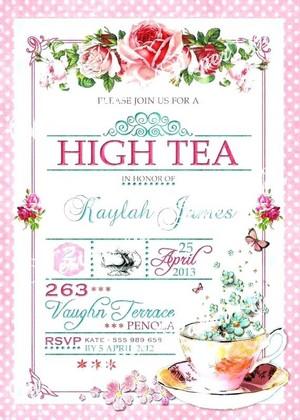 High chá Invite 🌺