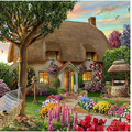 House With A Flower Garden