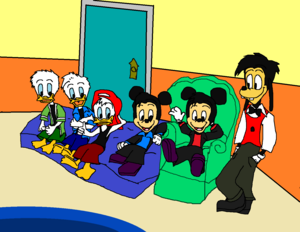 House of Fieldmouse (Mickey's Nephews Morty and Ferdie)