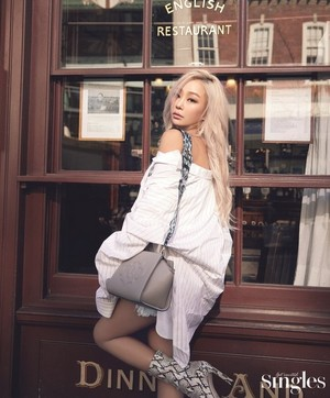 Hyolyn for Singles Korea Magazine April 2019 Issue