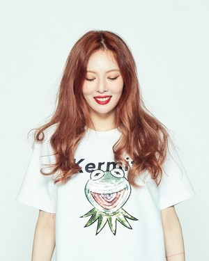 HyunA for CLRIDE.n X KERMIT
