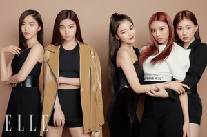 ITZY ELLE Korea as 'Naturally You' May 2019