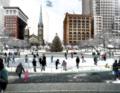 Ice Skating In Public Square