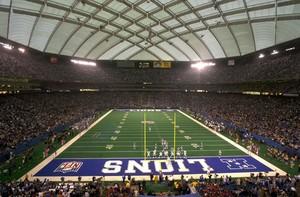 Inside Pontiac Silverdome