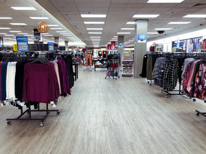 Inside Sears Department Store