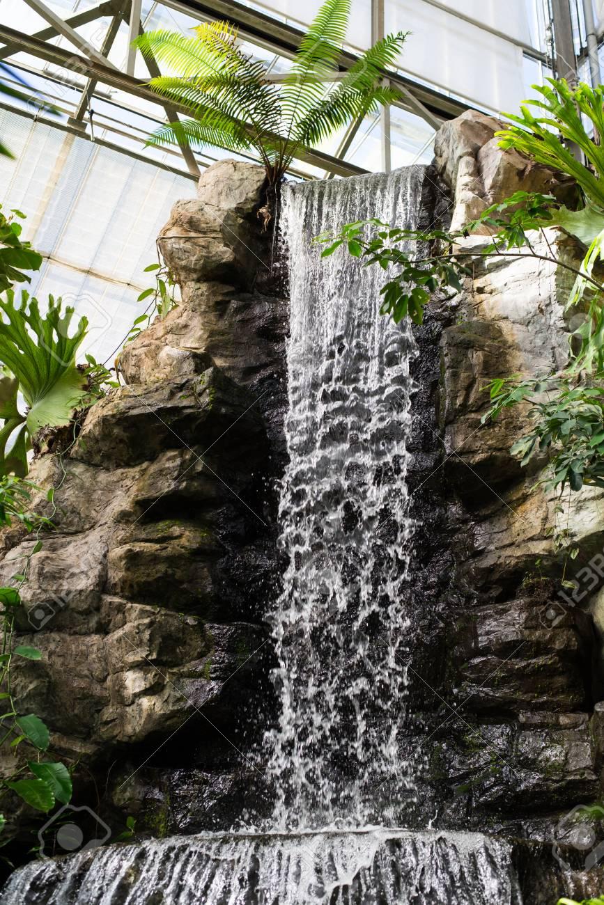 Interior Indoor Waterfall