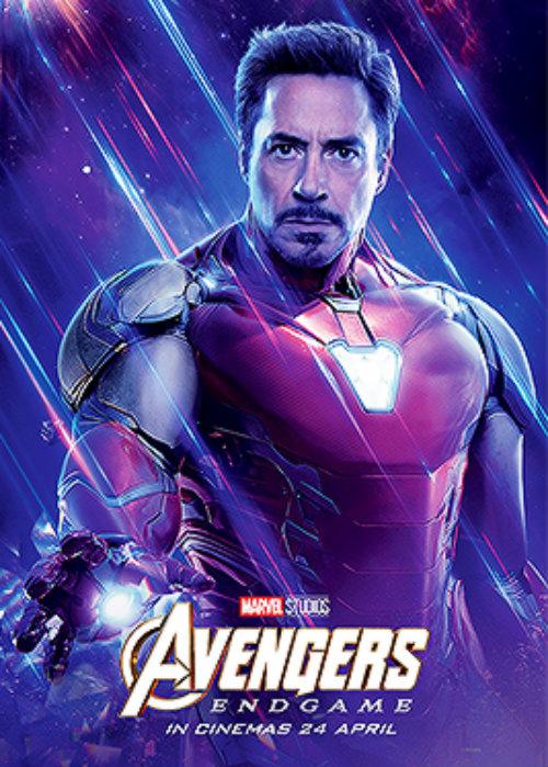 Iron Man Avengers Endgame 2019 Character Posters Avengers
