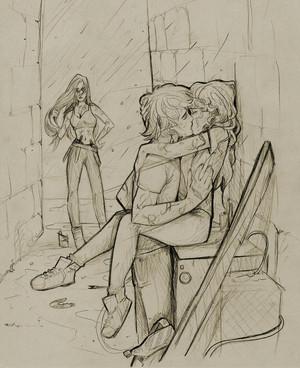 Jace/Clary Fanart - City Of Fallen mga kerubin