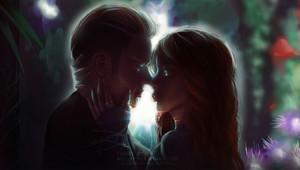 Jace/Clary Fanart - Midnight Kiss
