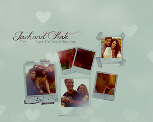 Jack/Kate fondo de pantalla - I'm lost Without tu