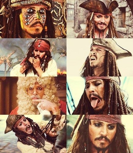 Beautiful Things 壁纸 titled Jack Sparrow🌹💖