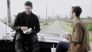 Jack and Dean (14x07) Unhuman Nature