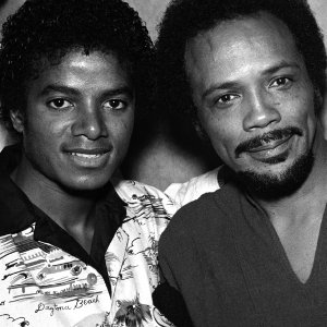 Micheal Jackson And Quincy Jones