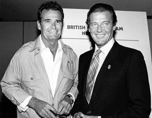 James Garner And Roger Moore
