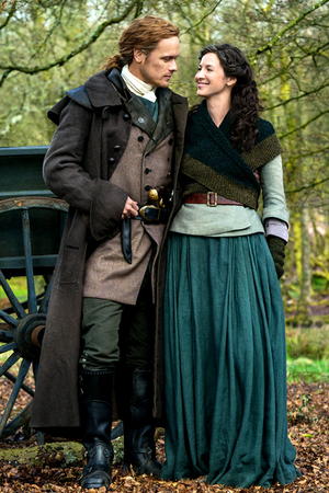 Jamie and Claire - Season 5