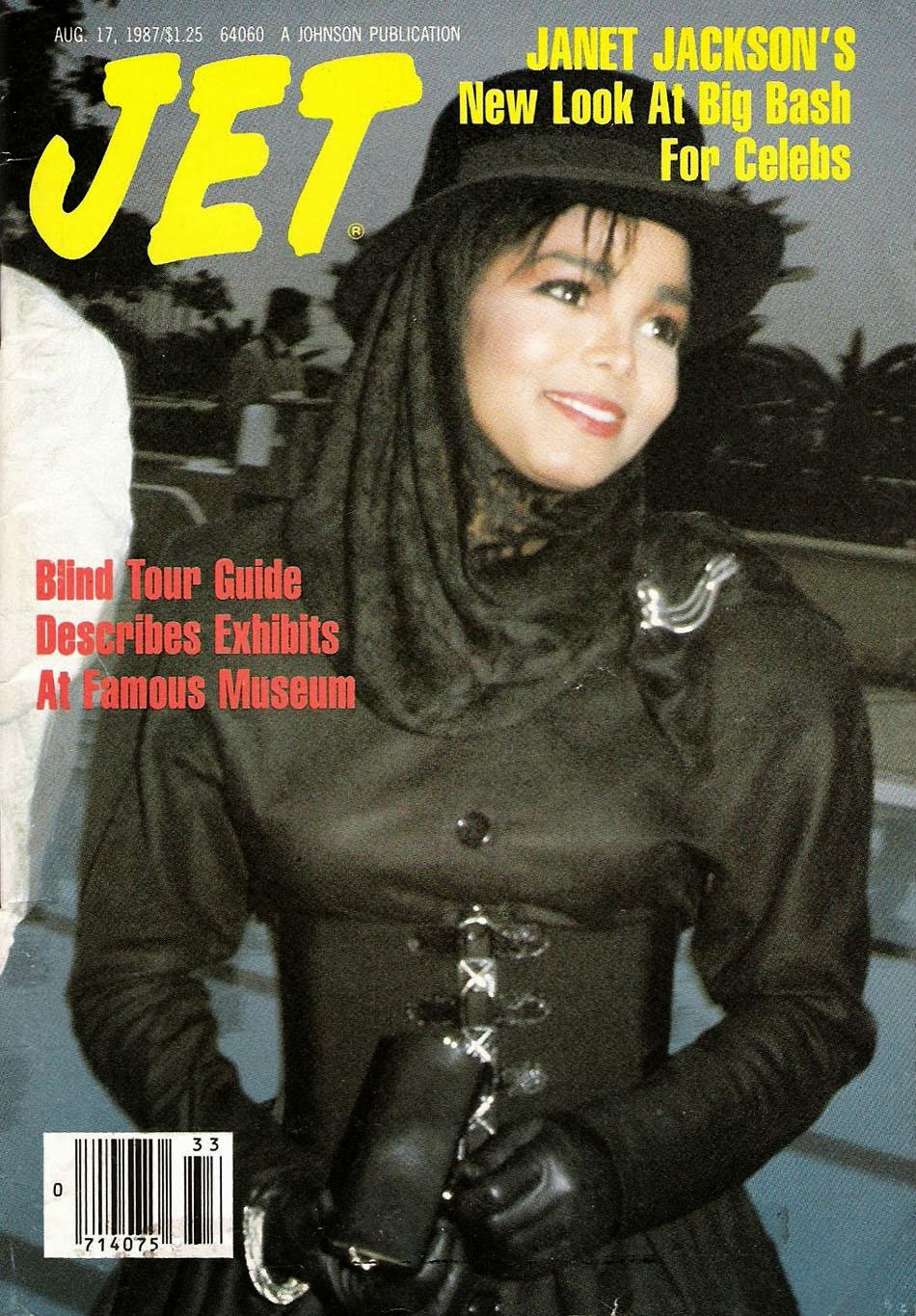 Janet Jackson On The Cover Of Jet