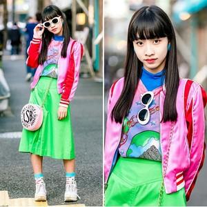 Japanese 街, 街道 fashion💕