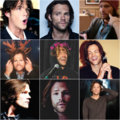 Jared Padalecki Collage - supernatural fan art