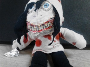 Jeff The Killer Plushy 2