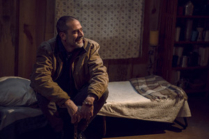 Jeffrey Dean morgan as Negan in 9x16 'The Storm'
