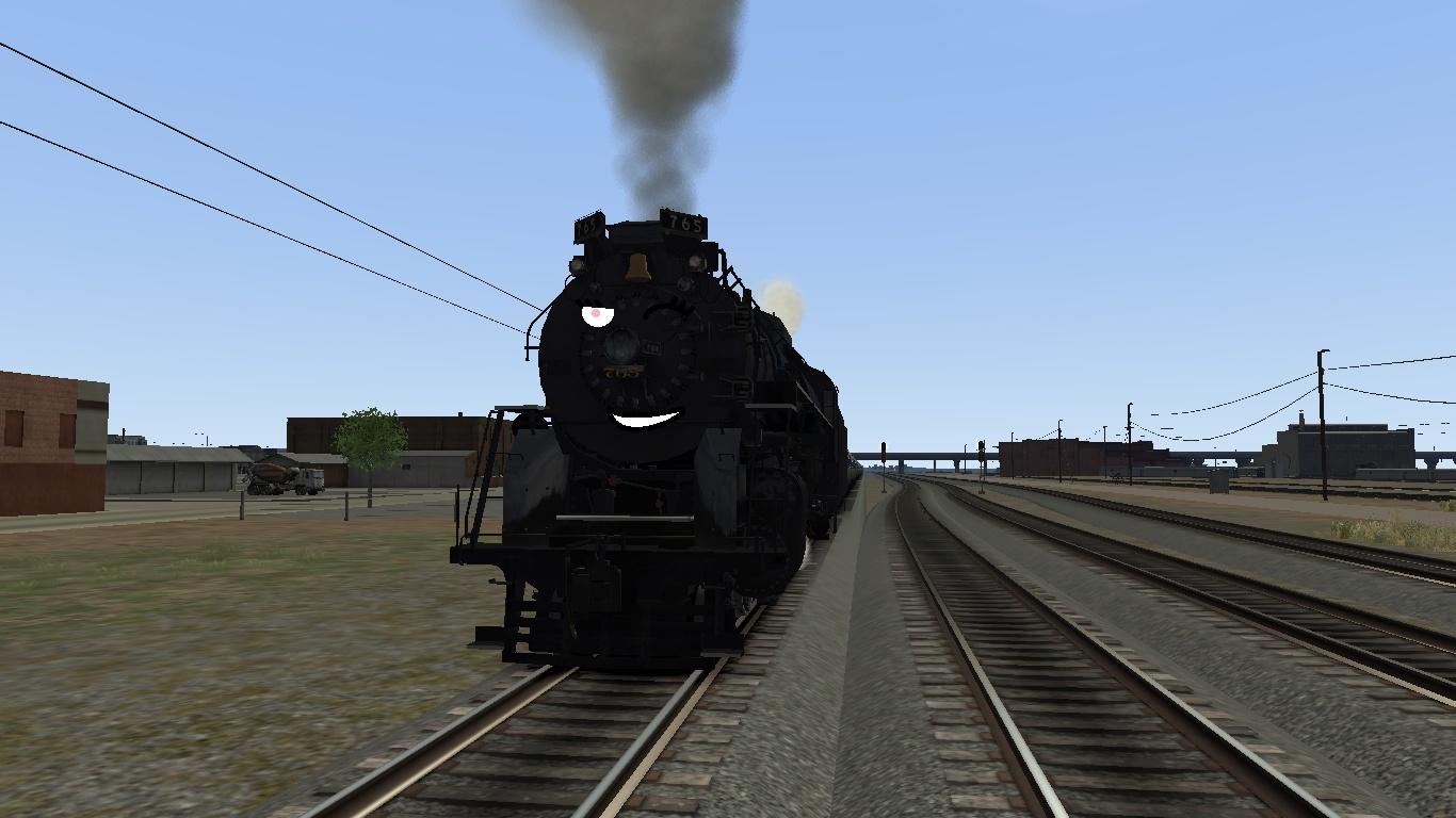 Jessica In Train Simulator