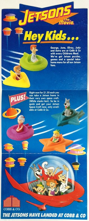 Jetsons The Movie Toy Ad