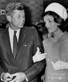 Johhn And Jaqueline Kennedy Back In 1960