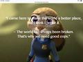 random - Judy hopps quote 1 wallpaper