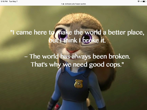 Judy hopps quote 1
