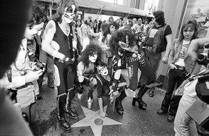 KISS ~Hollywood, California...February 24, 1976 (Graumans Chinese Theater)
