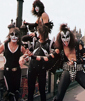 Kiss ~London, England...May 10, 1976