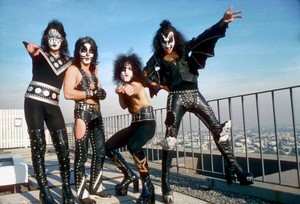 Kiss ~Los Angeles, California...January 16, 1975 (Playboy Building)