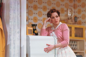 Katherine Parkinson as Judy in home pagina Im Darling