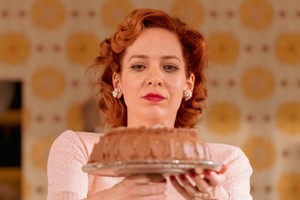 Katherine Parkinson as Judy in Home Im Darling