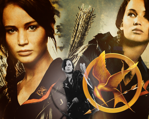 Katniss Everdeen achtergrond - I Survived The Hunger Games