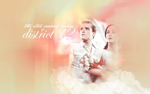 Katniss/Peeta fond d'écran - The Star-Crossed amoureux Of District 12
