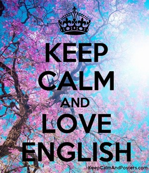 Keep Calm And Love English