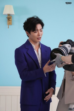 Kim JaeWook Her Private Life Poster Shoot Behind the Scene