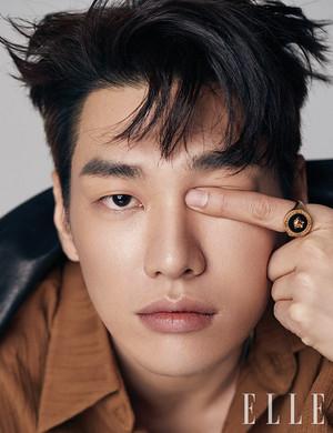 Kim YoungKwang For ELLE Korea Magazine April