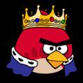 King Red - angry-birds fan art