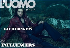 Kit Harington - L'Uomo Vogue Photoshoot - 2015